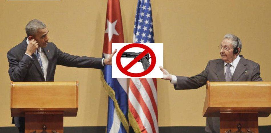 EE.UU. Debe Aprender De Cuba Que Ciudadanos Desarmados Significa Sumisión.