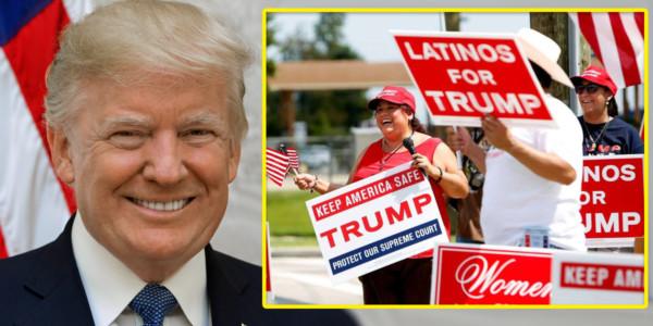 Medios Ocultan Lo Que Los Votantes Latinos Dicen Sobre Trump En 2018, Pero Aquí Está La VERDAD.