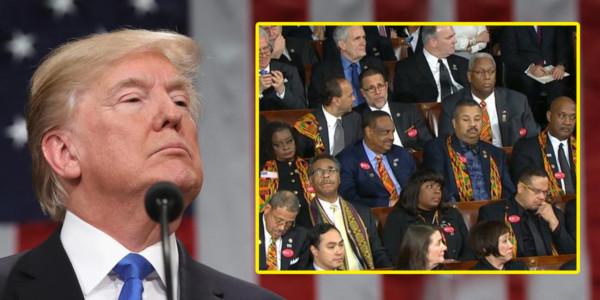 Al Grupo De Congresistas Negros No Le Gustó Que Trump REALMENTE Ayudó A Los Afroamericanos.