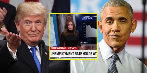 Medios Liberales Forzados A Admitir Que Trump Ha Ayudado A La Economía Más Que Barack Obama.