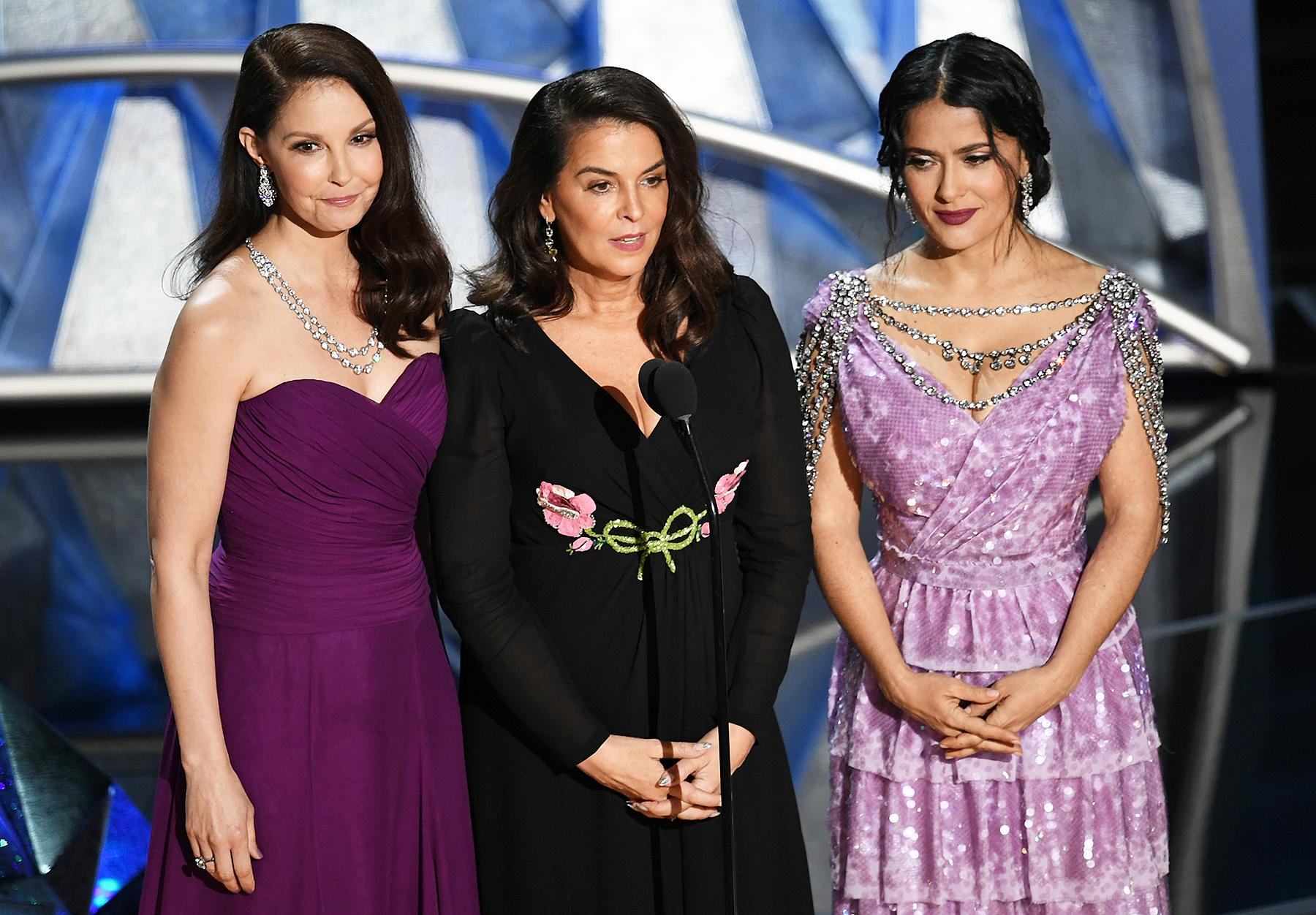 El Discurso De Las Actrices Víctimas De Harvey Weinstein En Los Oscar.