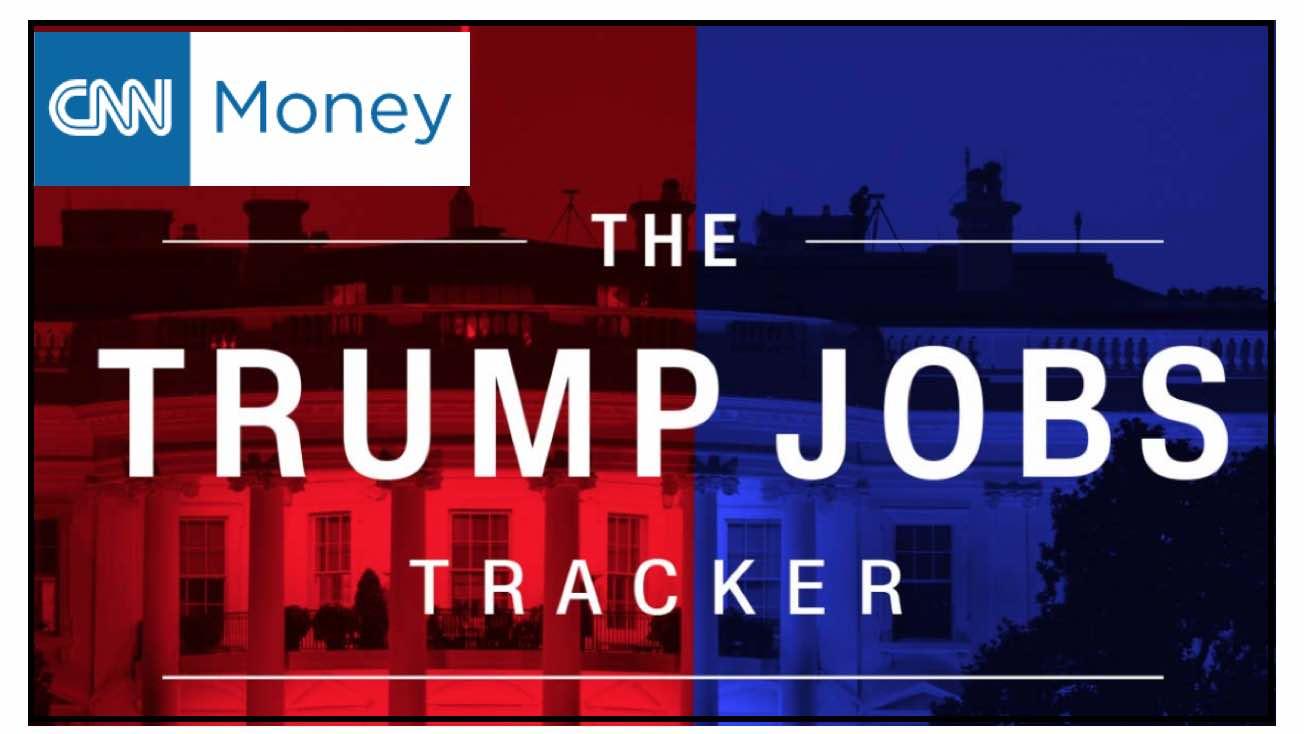 CNN No Ha Actualizado Su 'Tracker' De Empleos Creados Por Trump Desde Comienzos De Enero.