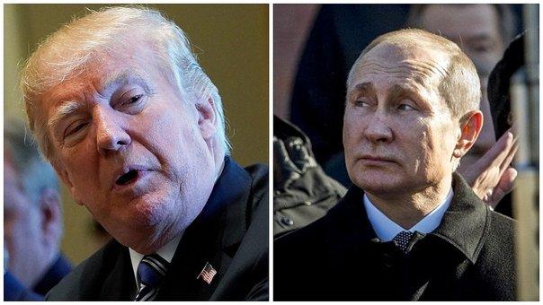 Donald Trump Acusa A Vladimir Putin De Envenenamiento A Espía.