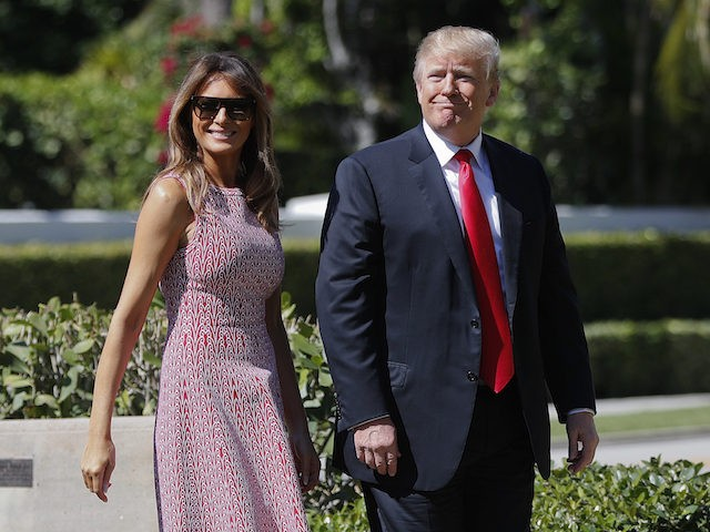 Trump Y Melania Asisten A Misa Por El Domingo De Pascua – VIDEO