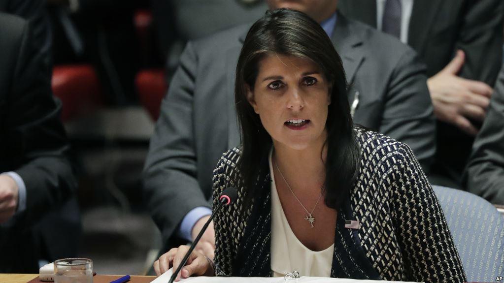Embajadora De EEUU En La ONU: Siria Usó Armas Químicas Al Menos 50 Veces.