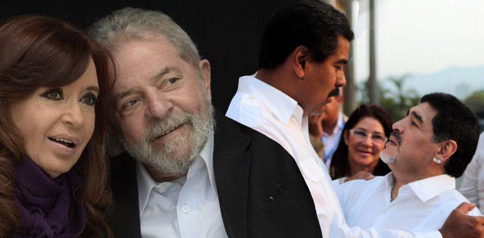 Maradona El Analista: Defendió A Maduro, A Lula Y Pidió Regreso De Kirchner.