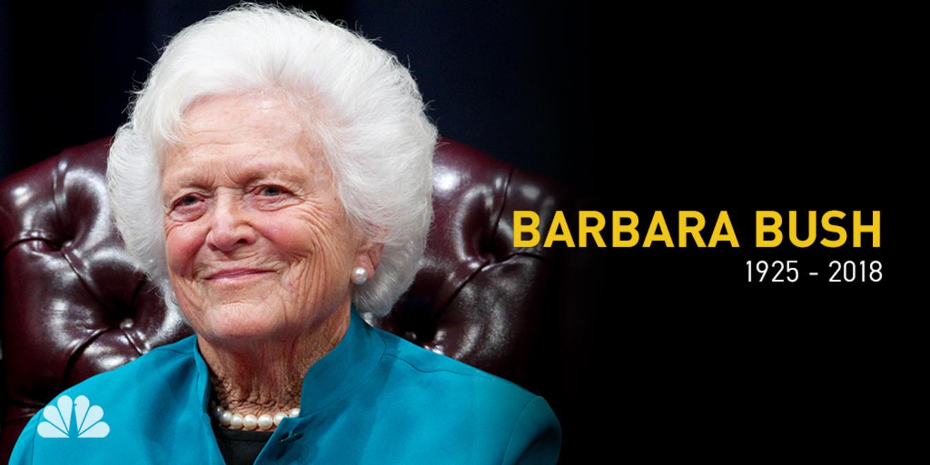 Despiden A Barbara Bush Con Un Solemne Funeral.