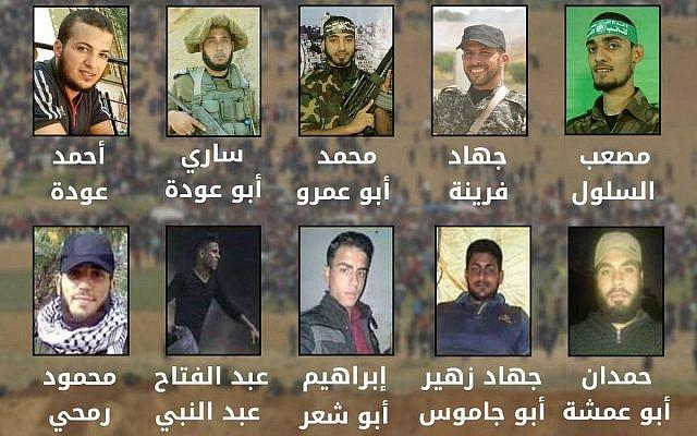 FDI: Al Menos 10 De Los 16 Muertos En La Frontera Con Gaza Eran Miembros De Grupos Terroristas.