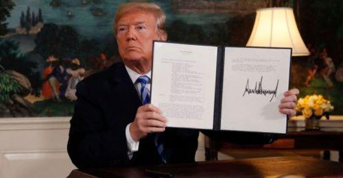 """Trump Lanzó Una Seria Advertencia A Irán: """"Si Relanzan Su Programa Nuclear Habrá Consecuencias Muy Severas"""""""