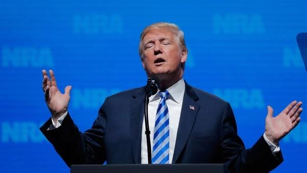 """Donald Trump Defendió La Portación De Armas: """"La Segunda Enmienda Nunca Estará Bajo Asedio Mientras Sea Presidente"""""""