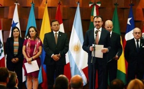 Los 14 Países Del Grupo De Lima Desconocieron Los Resultados En Venezuela.