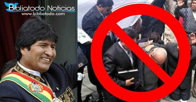 Centros Cristianos Cerraran Sus Puertas En Bolivia Por Orden De Evo Morales.