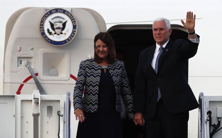 Migración, Comercio Y Seguridad Acaparan Agenda De Pence En Ecuador.