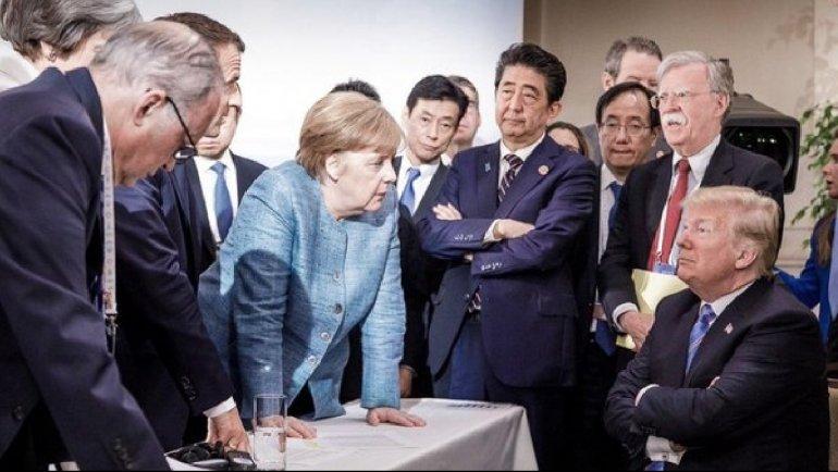 Cumbre Del G7:  Trump Afirmó Que  Estados Unidos No Será La 'alcancía' Del Mundo.