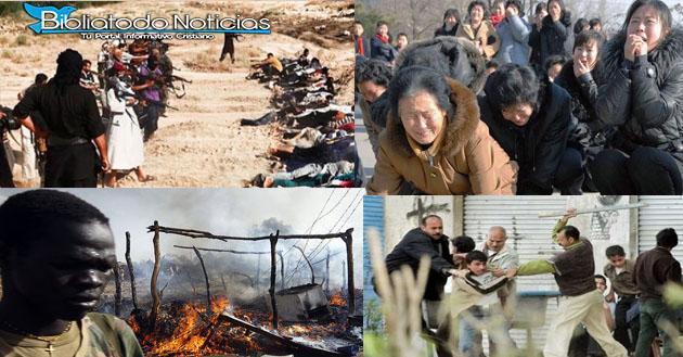 """""""Alarmante"""" Los Cristianos Son Objeto De Persecución En 144 Naciones, Apuesta Estudio."""