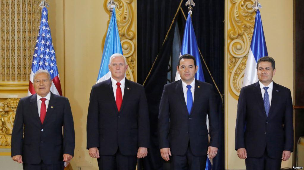 Pence: Centroamérica Debe Hacer Más Contra La Migración Ilegal.