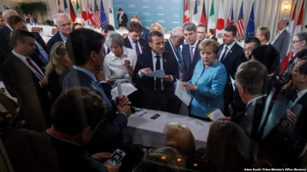 G7 Logra Débil Consenso Con Desafíos De Trump.