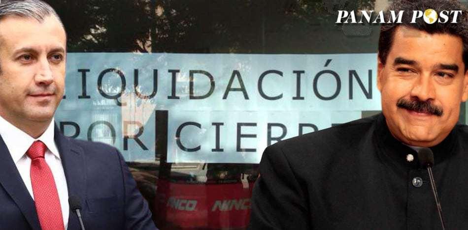 """""""Quiebre Absoluto"""": Maduro Planea Apropiarse Del 70 % De La Producción."""