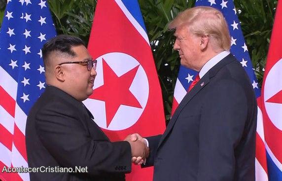 Trump Pidió A Líder Norcoreano Devolver Libertad Religiosa A Cristianos.