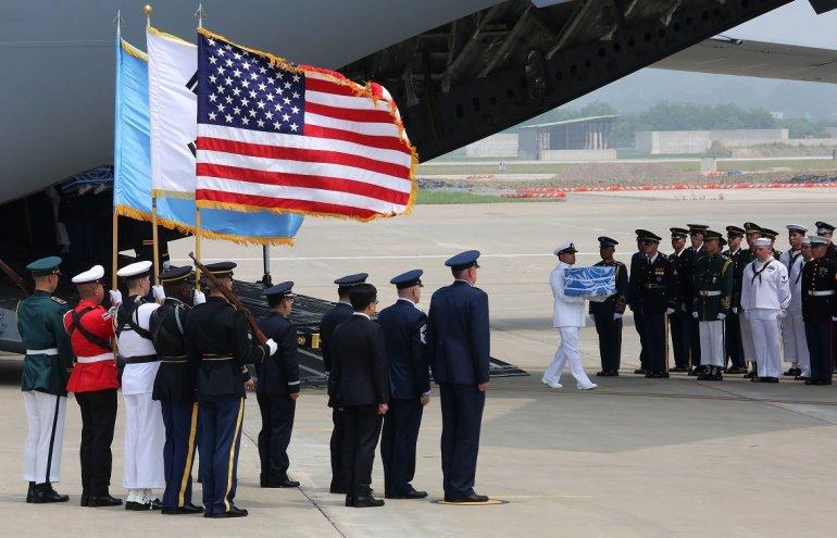 Trump Agradece A Kim La Entrega De Restos De Soldados Caídos En La Guerra De Corea.