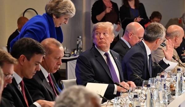 """Donald Trump Consiguió Un Aumento Del Gasto Militar De Sus Aliados: """"Ahora La OTAN Es Mucho Más Fuerte"""""""