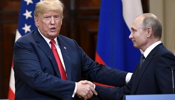 """Donald Trump Dijo Que Su Encuentro Con Vladimir Putin Fue """"aún Mejor"""" Que Su Reunión Con La OTAN."""