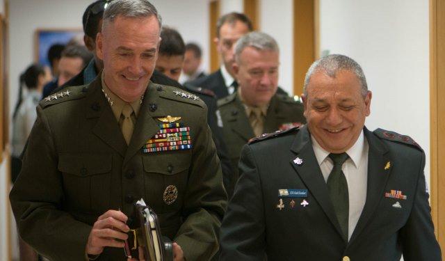 Los Líderes Militares De Estados Unidos E Israel Se Reúnen En El Pentágono.