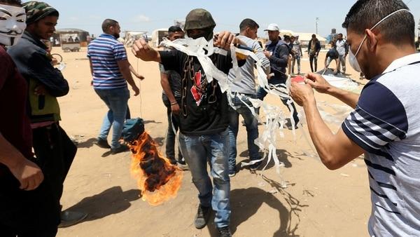 El Ejército De Israel Respondió Un Nuevo Ataque Incendiario Perpetrado Desde Gaza.