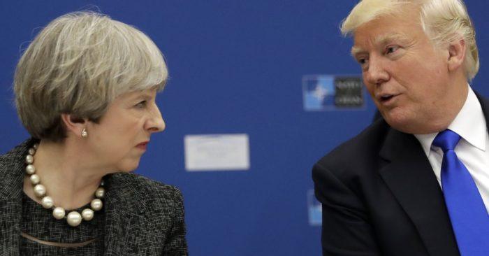 Trump Asesora A May Sobre Cómo Negociar El Brexit.