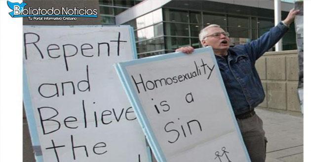 A Cristianos Le Dan 2 Años De Prisión Por Decir Que La Homosexualidad Es Pecado.