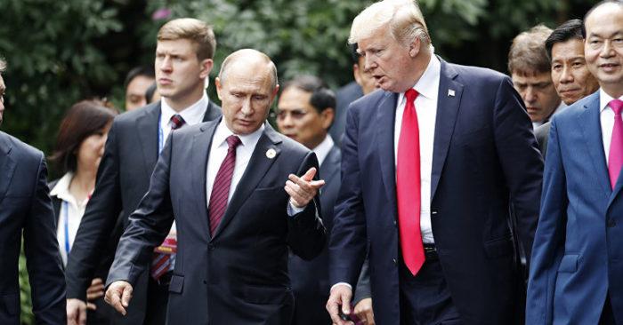 """El """"Estado Profundo"""" Estaría En """"pánico"""" Por Lo Que Putin Podría Haberle Revelado A Trump."""