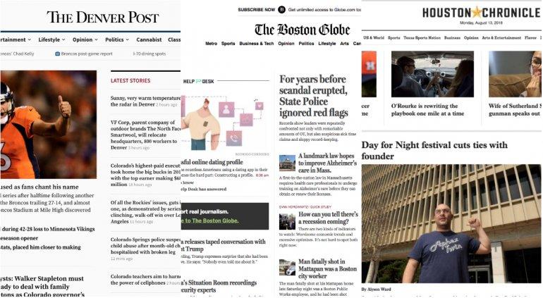 Un Centenar De Medios Publicarán Editoriales Contra Los Ataques De Trump.