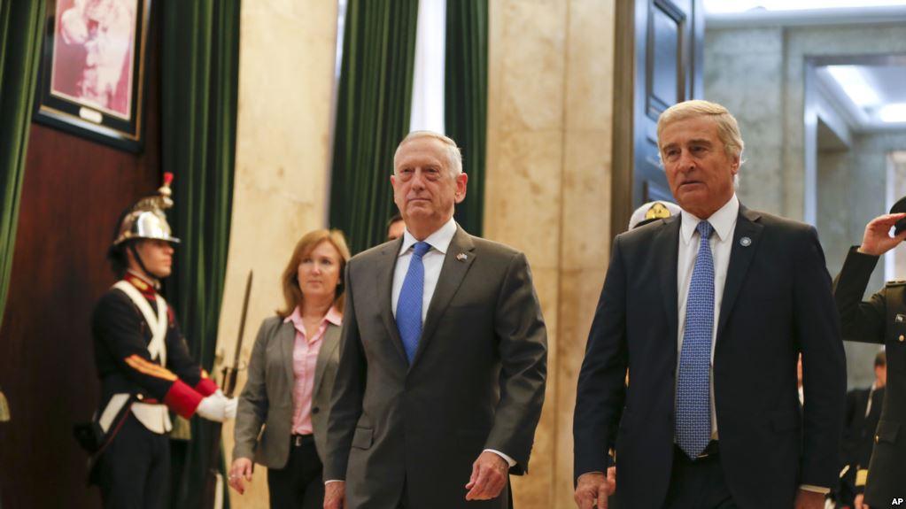EE.UU. Y Argentina Prometen Estrechar Cooperación Militar