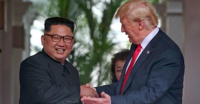 Casa Blanca Informa Que Trump Recibe Nueva Carta De Kim Jong Un.