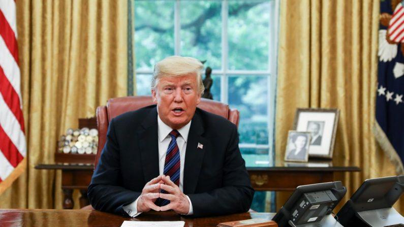 Trump Critica A Google Por Tener Resultados De Búsqueda Tendenciosos.