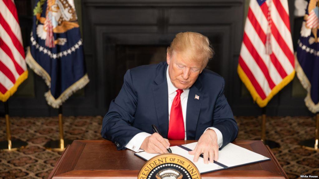 Trump: Quien Comercie Con Irán No Hará Negocios Con EE.UU.