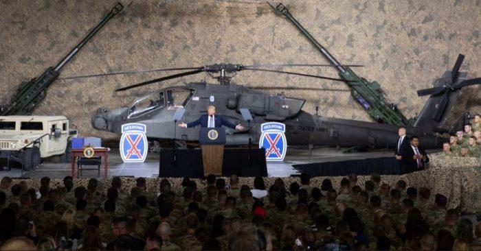 EE.UU.: Trump Firma El Presupuesto De Defensa Más Alto De Su Historia Para Modernizar Las Fuerzas Armadas.