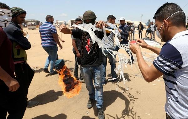 El Sur De Israel, En Llamas: En Los últimos Meses Se Lanzaron 1.400 Balones Incendiarios Desde La Franja De Gaza.