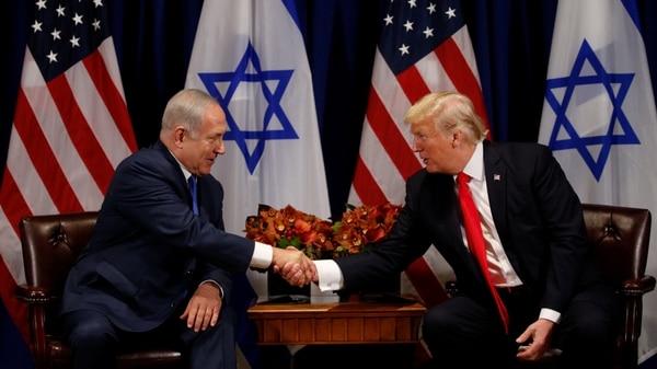 Benjamin Netanyahu Celebró La Decisión De Estados Unidos De Cerrar La Representación Palestina En Washington.