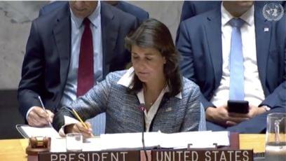 EE.UU. En La ONU: Nicaragua Va Camino De Ser Otra Venezuela.