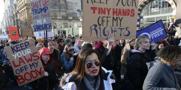 Liberales, Izquierdistas Y Celebridades Organizan Marchas Contra Trump En Varias Ciudades Del Mundo