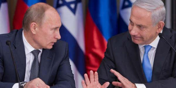 "Netanyahu Advierte A Putin: ""no Permitiré La Permanencia De Irán En Siria"""