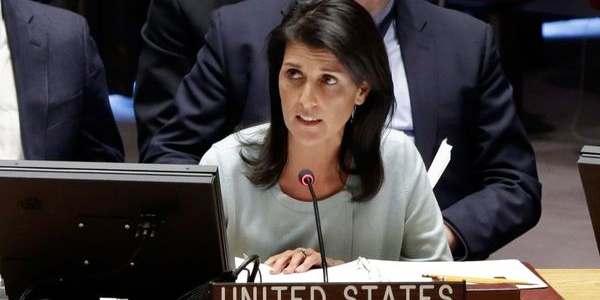 """La Embajadora De Estados Unidos Ante La ONU Aseguró Que """"se Acabaron Las Injurias A Israel"""""""