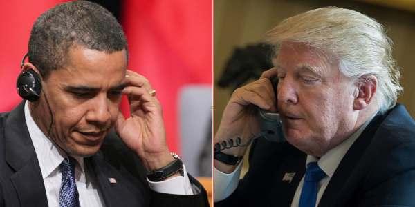 "EEUU: Congreso Espera ""prueba Definitiva"" Que Barack Obama Espiaba A Donald Trump."