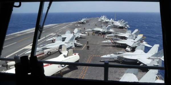 Pence: Portaaviones Llegará En Próximos Días A Península Coreana.