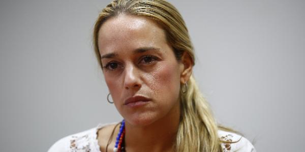 Lilian Tintori: 'La Posición Del Papa Frente A Venezuela Es Inaceptable'