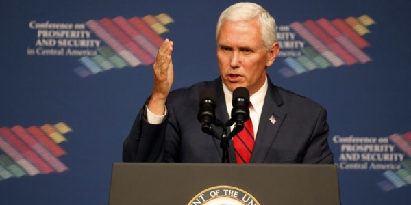 Mike Pence Condena El Abuso De Poder En Venezuela.