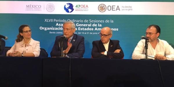 OEA No Logra Consenso Sobre Crisis En Venezuela.