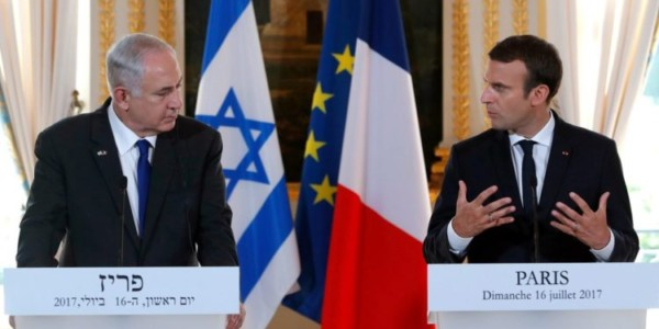 Macron A Netanyahu: Francia Está Preparada Para Enfrentar La Amenaza De Hezbolá A Israel.