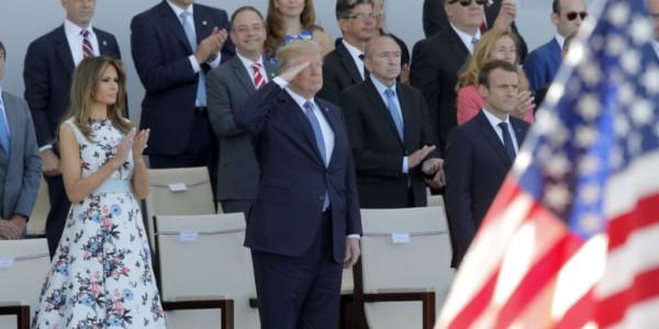 Presidente Francés Destaca Relación De Amistad Con EE.UU.